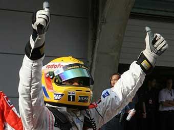 Гамильтон выиграл квалификацию Гран-при Китая