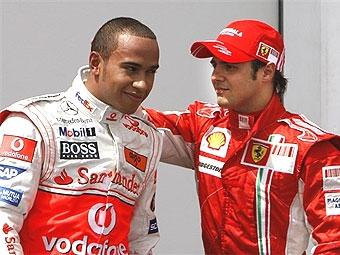 Масса опередил Гамильтона на квалификации Гран-при Франции