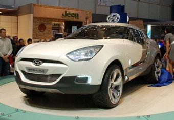 Hyundai представила в Женеве пластмассовый кроссовер