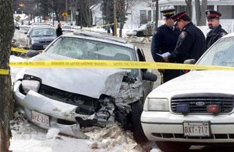 Пьяная 11-летняя девочка пыталась скрыться на машине от полиции