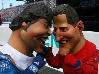 Алонсо опередил Шумахера в борьбе за звание лучшего автогонщика мира
