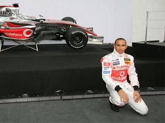 Гамильтон разбил новый болид McLaren