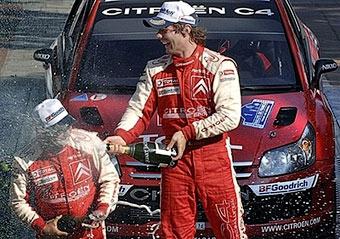 Себастьен Леб выиграл 35-ю гонку в своей карьере