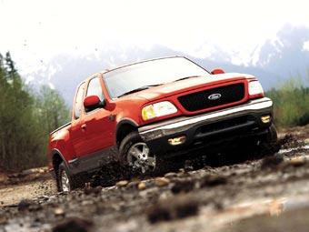 Ford Motor отзывает для ремонта 155 тысяч внедорожников и пикапов