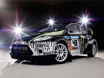 Кен Блок будет гоняться в американском ралли на Ford Fiesta