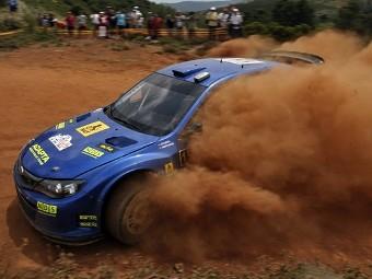 Subaru выступит в раллийной серии IRC