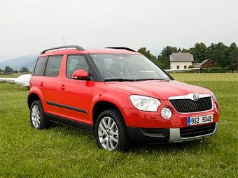 На калужском заводе VW началась сборка кроссоверов Skoda Yeti