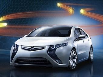 Компания Opel официально представила электрокар Ampera