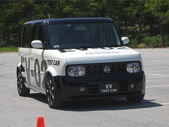 Электрокары Nissan смогут подзаряжаться без проводов