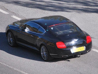 Bentley готовит гибридную версию купе Continental GT