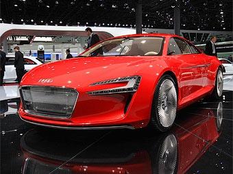 Электросуперкар Audi e-tron выпустят тиражом в 1000 штук