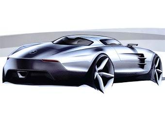 AMG превратит новый суперкар Mercedes-Benz в электромобиль