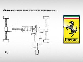 """Ferrari готовит полноприводные """"гибриды"""""""