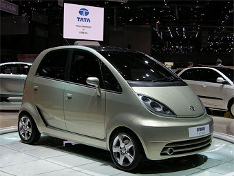 Европейская версия Tata Nano будет стоить пять тысяч евро
