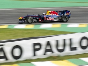 Гонщики команды Red Bull опередили конкурентов на Гран-при Бразилии