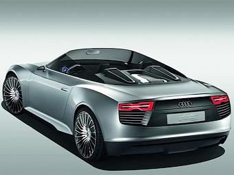 Спортивный спайдер Audi оснастили гибридной силовой установкой