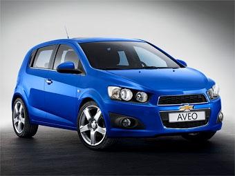 Компания Chevrolet показала новый хэтчбек Aveo