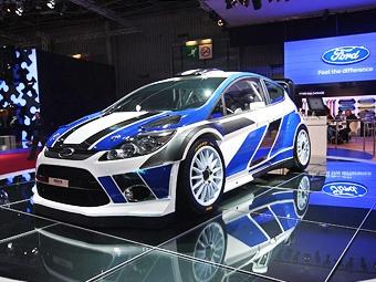 Ford показал новый автомобиль для чемпионата мира по ралли
