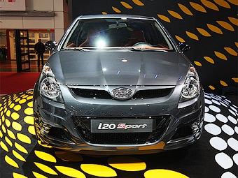 Ателье Brabus помогло Hyundai разработать спортивную версию хэтчбека i20
