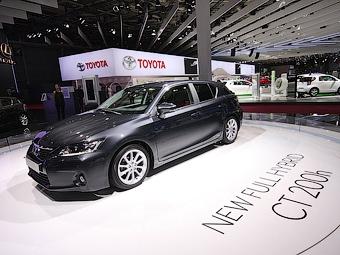 В Европе гибридный хэтчбек Lexus появится в середине октября