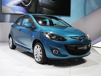 В Париже дебютировала обновленная Mazda2