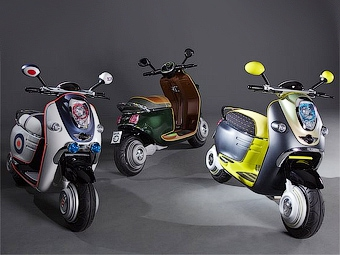 Марка MINI рассекретила электрический скутер