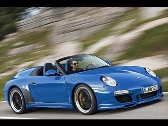 Эксклюзивный Porsche 911 Speedster выпустят тиражом в 356 экземпляров