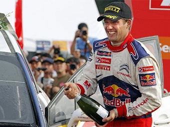 Себастьен Ожье выиграл вторую гонку WRC в своей карьере