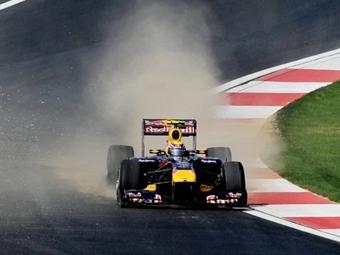 Марк Уэббер оказался лучшим по итогам пятничных заездов на Гран-при Кореи