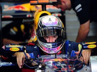 Себастьян Феттель выиграл квалификацию Гран-при Европы