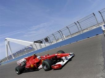 Фернандо Алонсо установил лучшее время пятничных заездов на Гран-при Европы