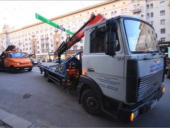 Власти Москвы объявят войну парковке на тротуарах и остановках