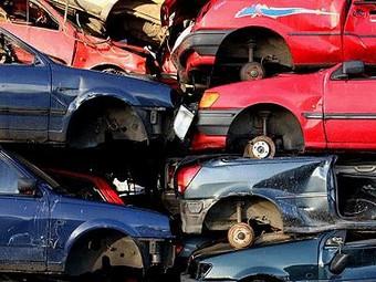 Государство заработает на программе утилизации автохлама