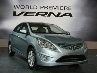 В России будут собирать локализованную версию Hyundai Verna
