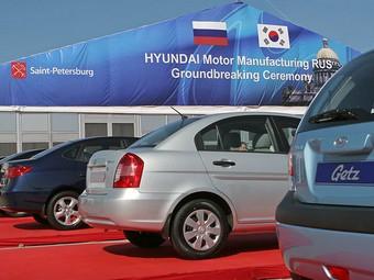 Компания Hyundai намерена производить в России 500 тысяч автомобилей в год
