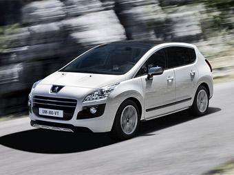 Компания Peugeot анонсировала первый серийный дизельный гибрид
