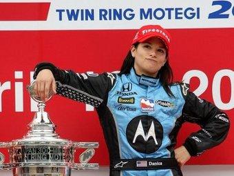Даника Патрик продлила контракт с командой Andretti Autosport