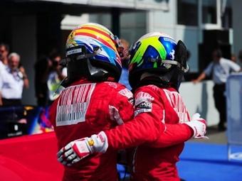 Команда Ferrari сделала дубль на Гран-при Германии