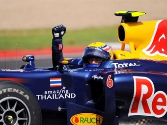 Марк Уэббер выиграл Гран-при Великобритании