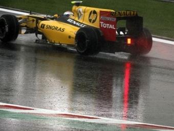 Виталий Петров разбил машину в квалификации Гран-при Бельгии