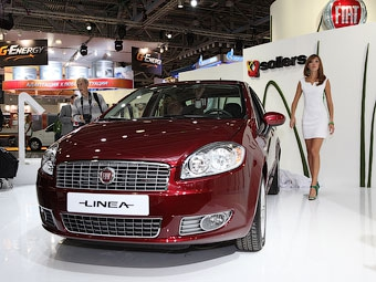 В России начались продажи седана Fiat Linea отечественной сборки
