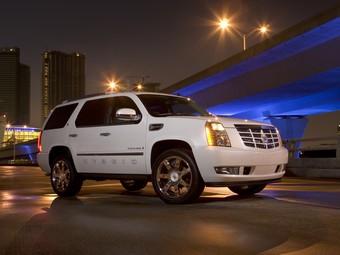 Российские продажи гибридного Cadillac Escalade начнутся в октябре