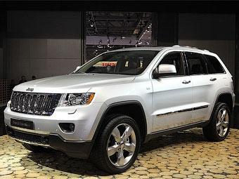 Россиянам первым в Европе показали новый Jeep Grand Cherokee