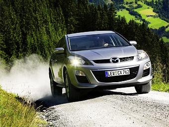 Обновленный кроссовер Mazda CX-7 добрался до России