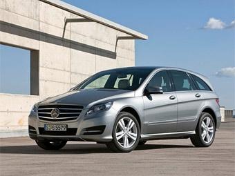 Компания Mercedes-Benz представила обновленный R-Class