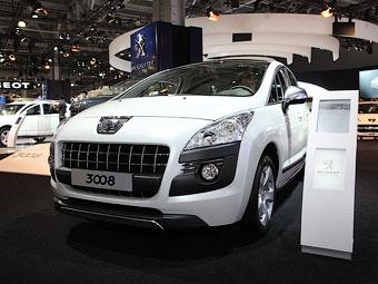 В России начались продажи кроссовера Peugeot 3008
