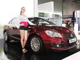 В России будет продаваться седан Suzuki Kizashi