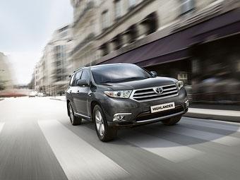 Объявлены российские цены на новый кроссовер Toyota
