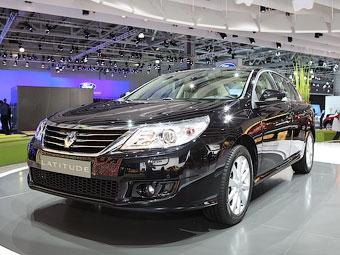 В Москве прошла мировая премьера седана Renault Latitude