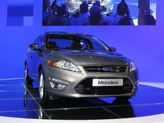 В Москве состоялась премьера обновленного Ford Mondeo